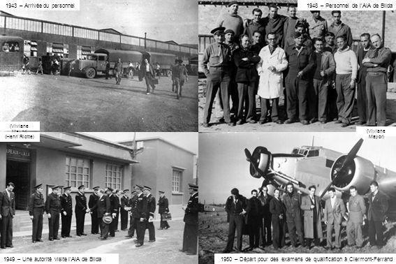 1948 – Personnel de l'AIA de Blida