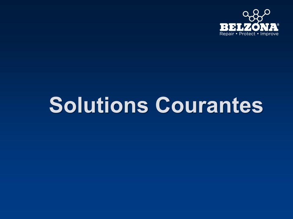 Solutions Courantes Il y a différentes solutions dans le marché, nous montrerons les plus courantes dans les diapositives suivantes.