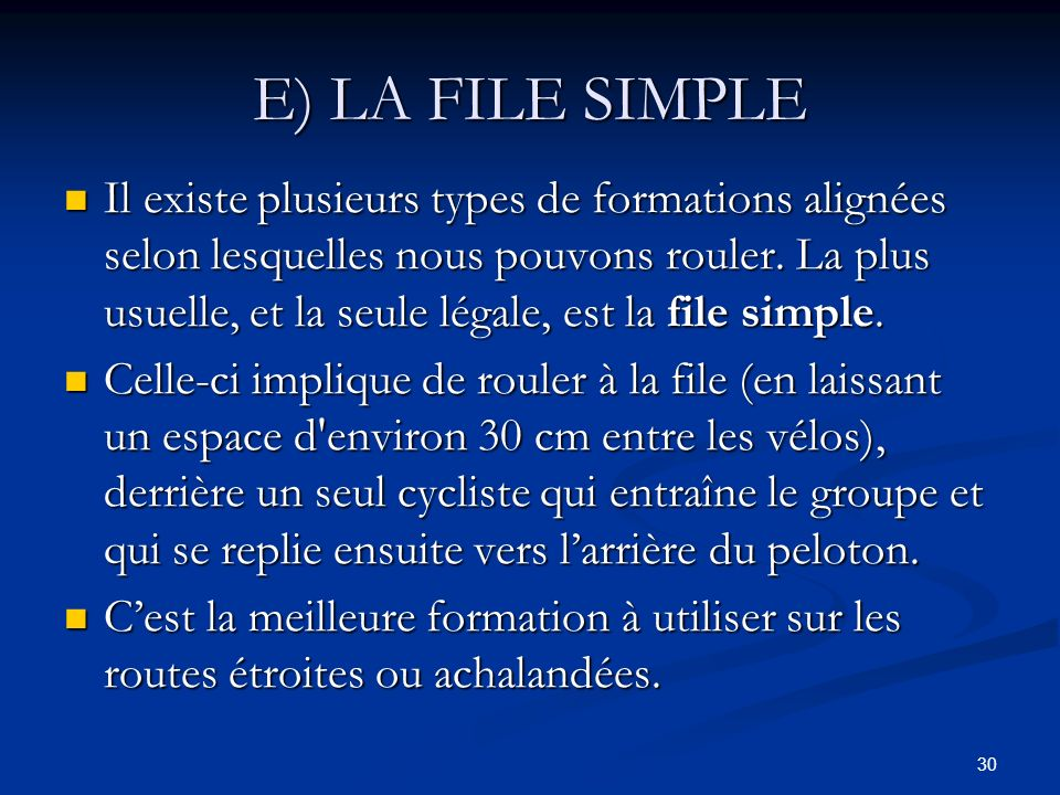 E) LA FILE SIMPLE
