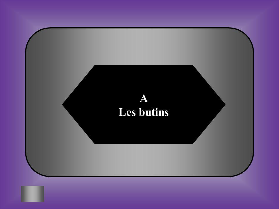 A Les butins