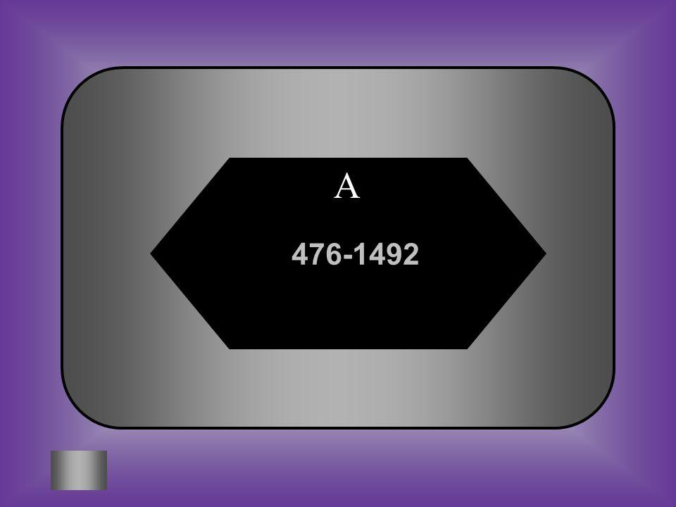 A 476-1492