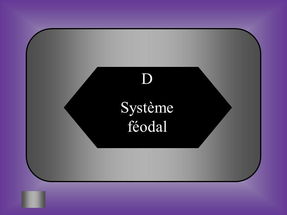 D Système féodal