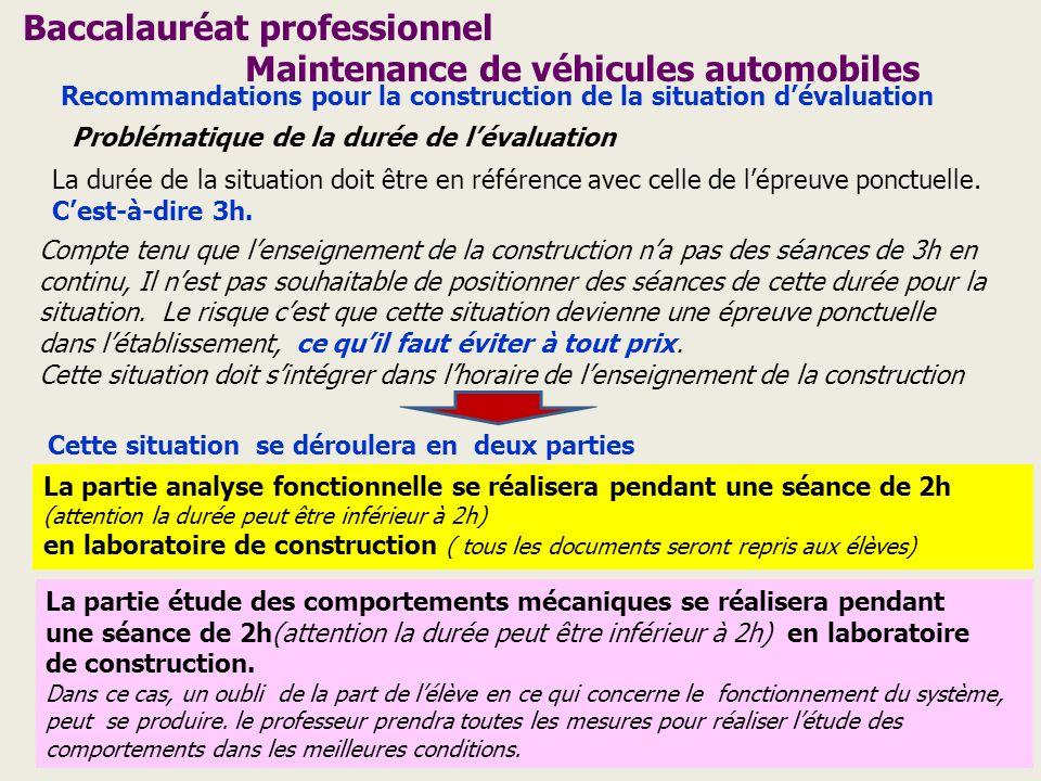 Baccalauréat professionnel Maintenance de véhicules automobiles