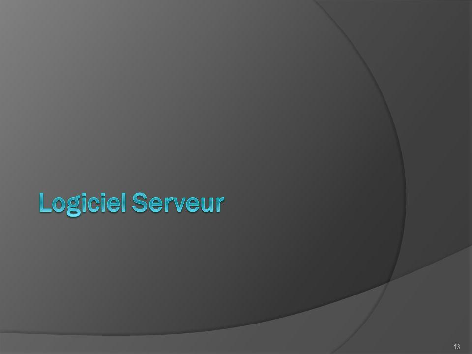 Logiciel Serveur