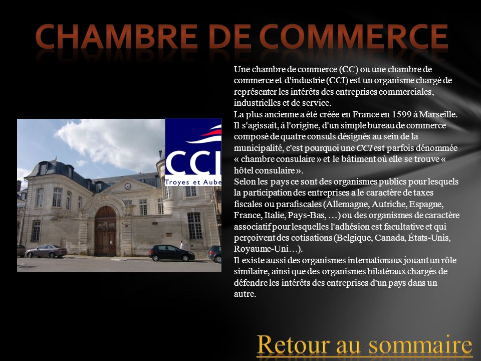 Sommaire ordre administratif ordre judiciaire quitter for Chambre consulaire