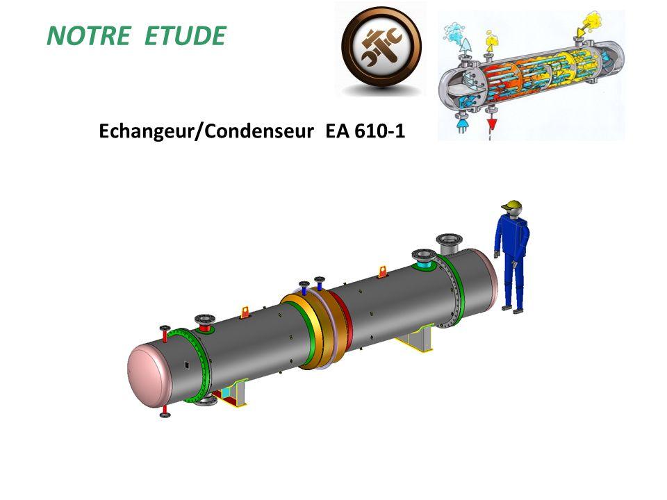 NOTRE ETUDE Echangeur/Condenseur EA 610-1
