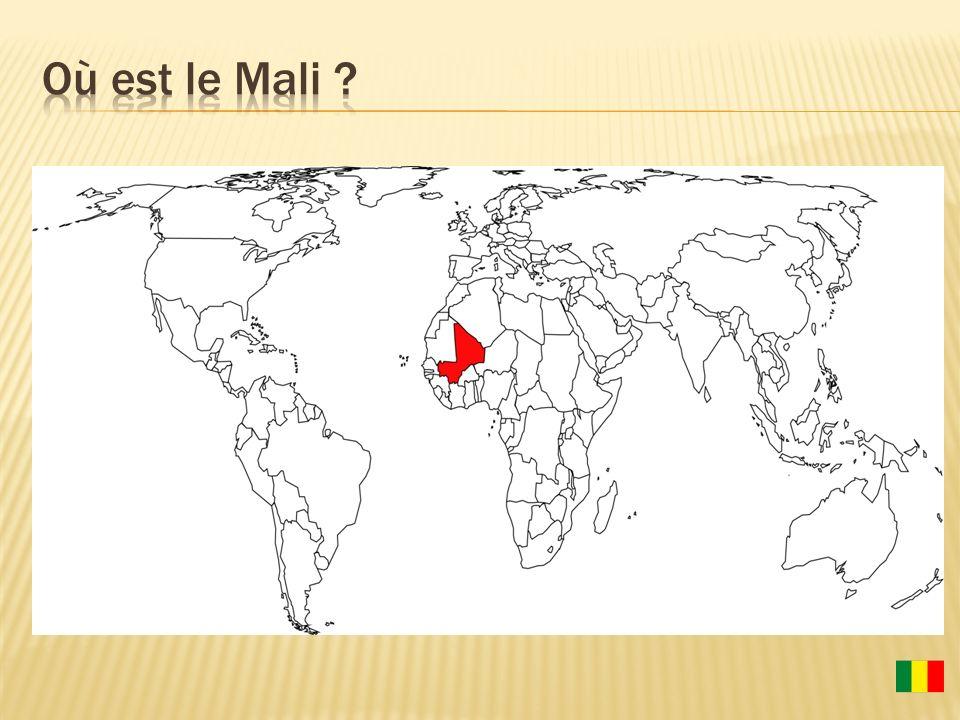 Où est le Mali