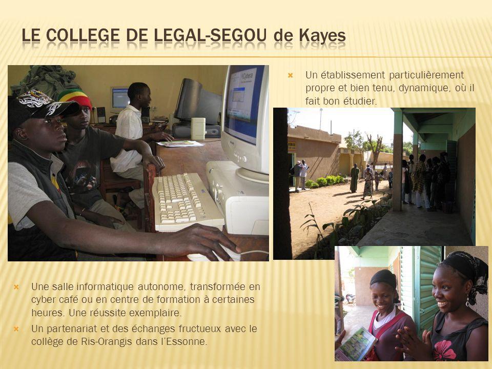 LE COLLEGE DE LEGAL-SEGOU de Kayes