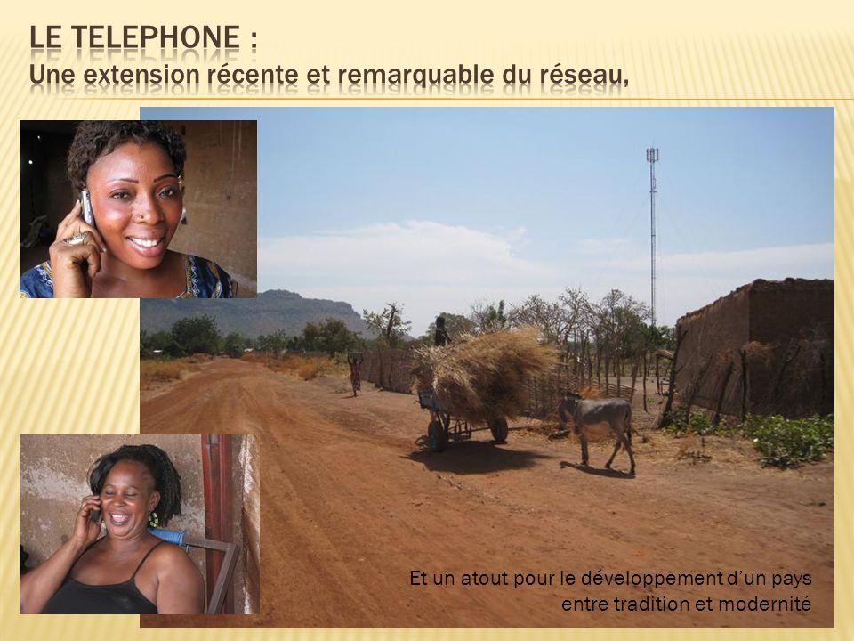 LE TELEPHONE : Une extension récente et remarquable du réseau,