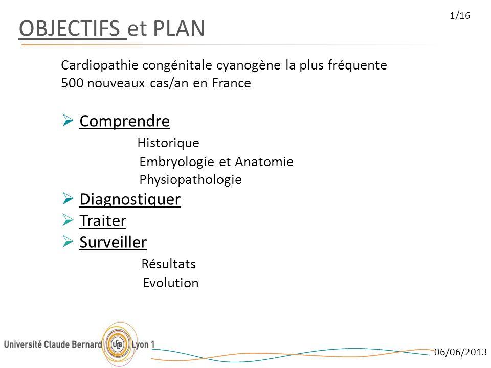 OBJECTIFS et PLAN Comprendre Historique Diagnostiquer Traiter
