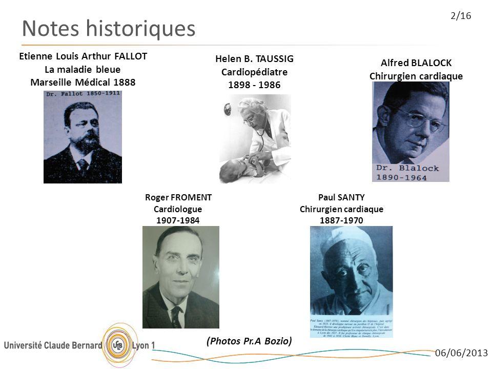 Notes historiques 2/16 Etienne Louis Arthur FALLOT La maladie bleue