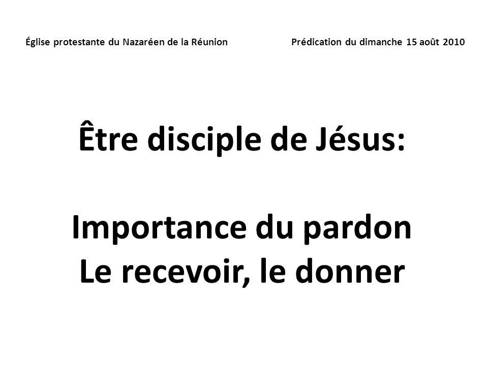 Être disciple de Jésus: