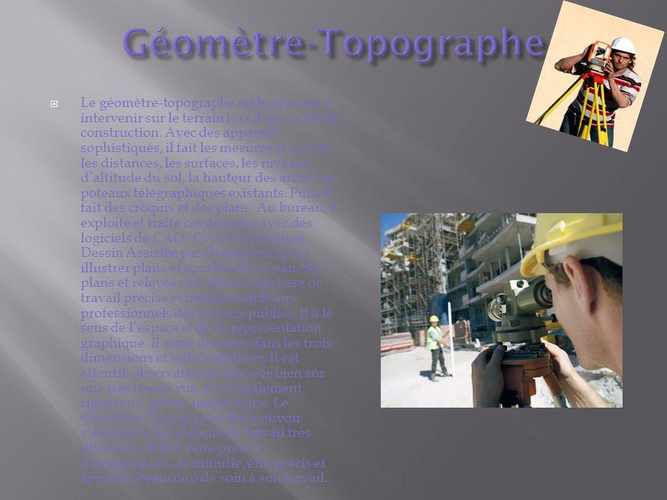 Géomètre-Topographe
