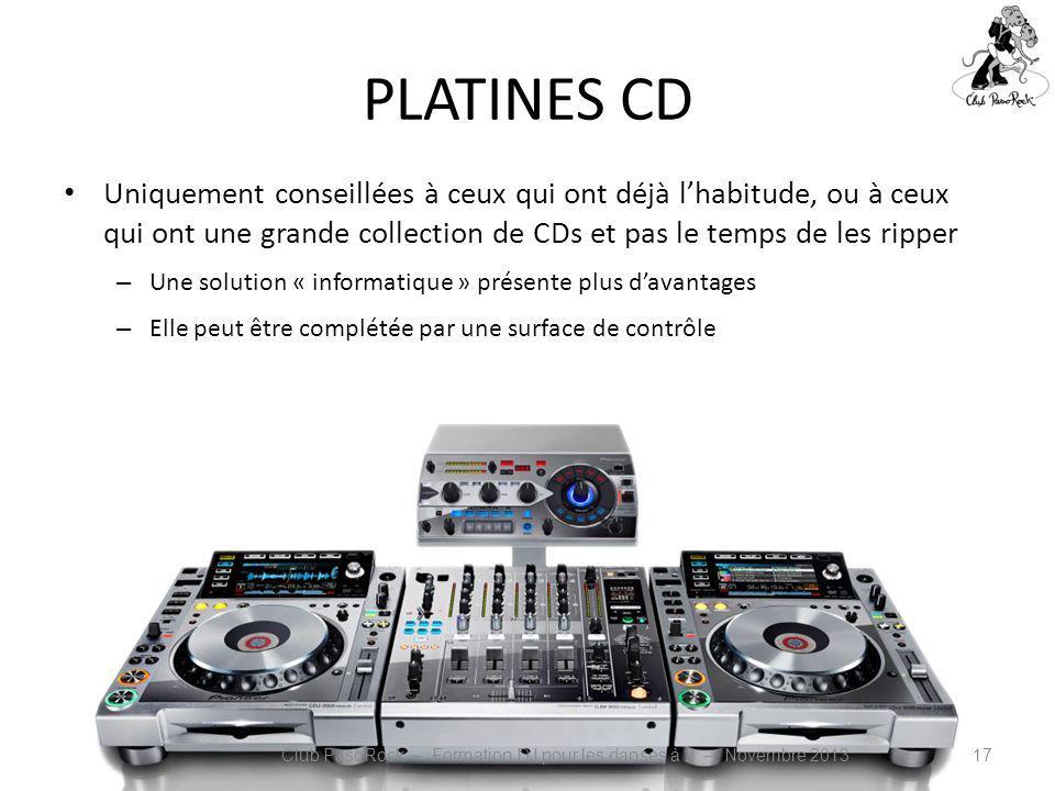 Club PasoRock – Formation DJ pour les danses à 2 – Novembre 2013