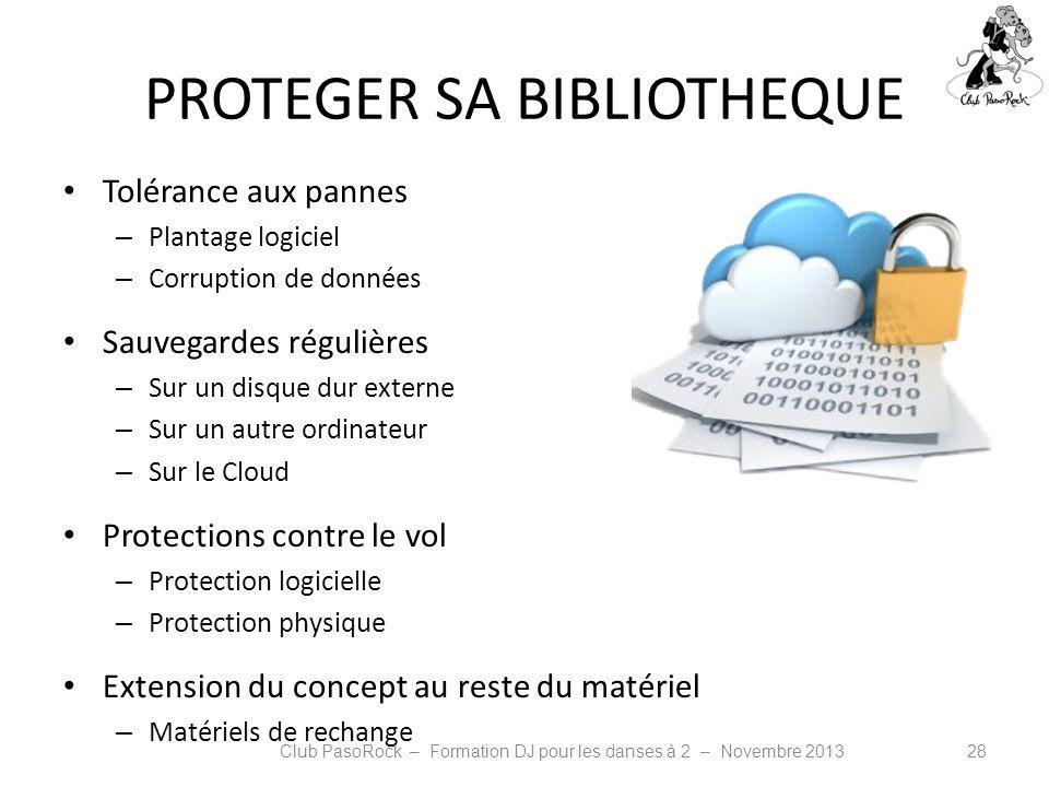PROTEGER SA BIBLIOTHEQUE