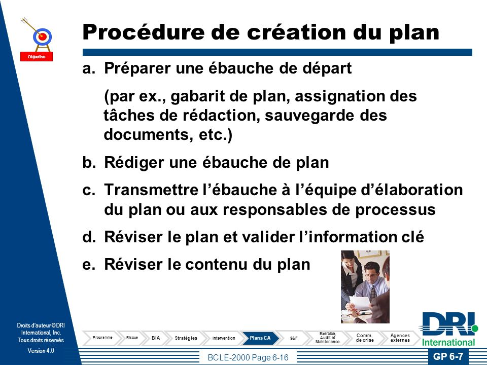 Publier les plans documentés