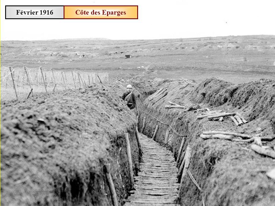 Février 1916 Côte des Eparges