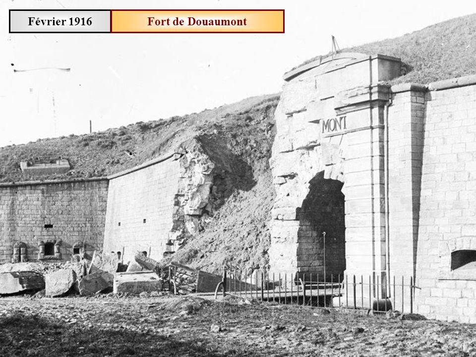 Février 1916 Fort de Douaumont