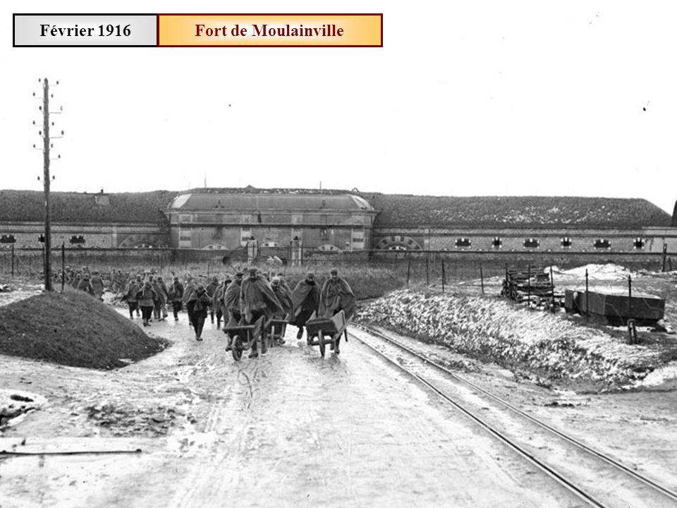 Février 1916 Fort de Moulainville