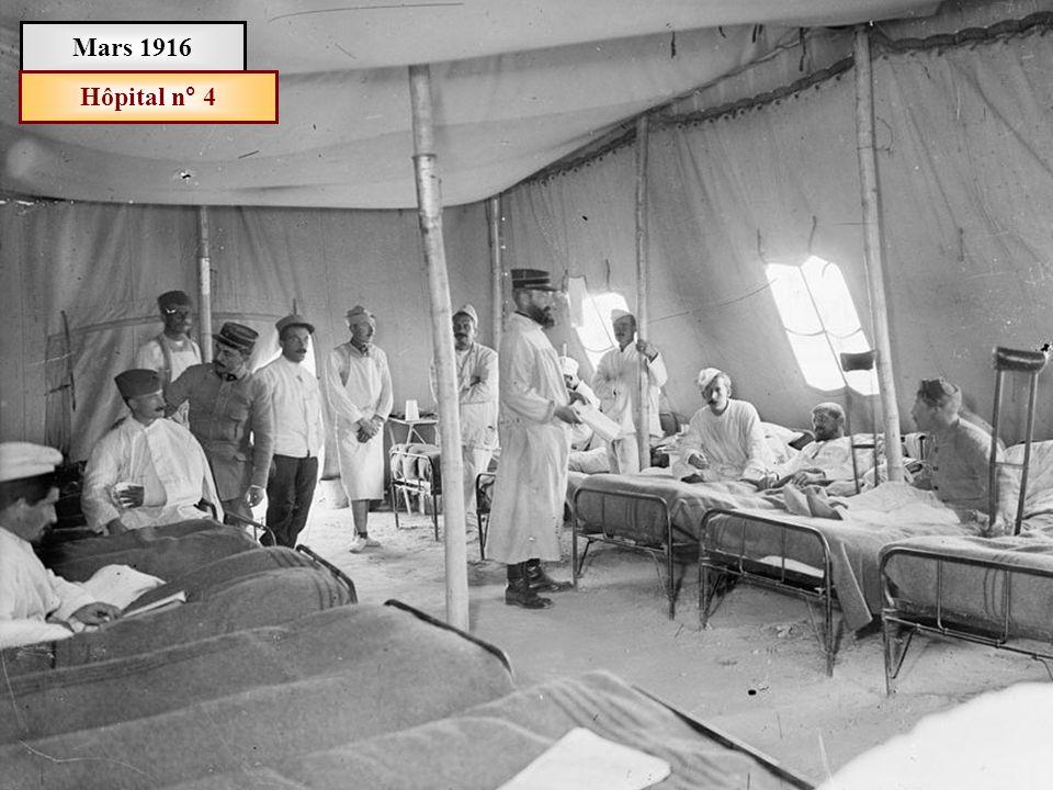 Mars 1916 Hôpital n° 4