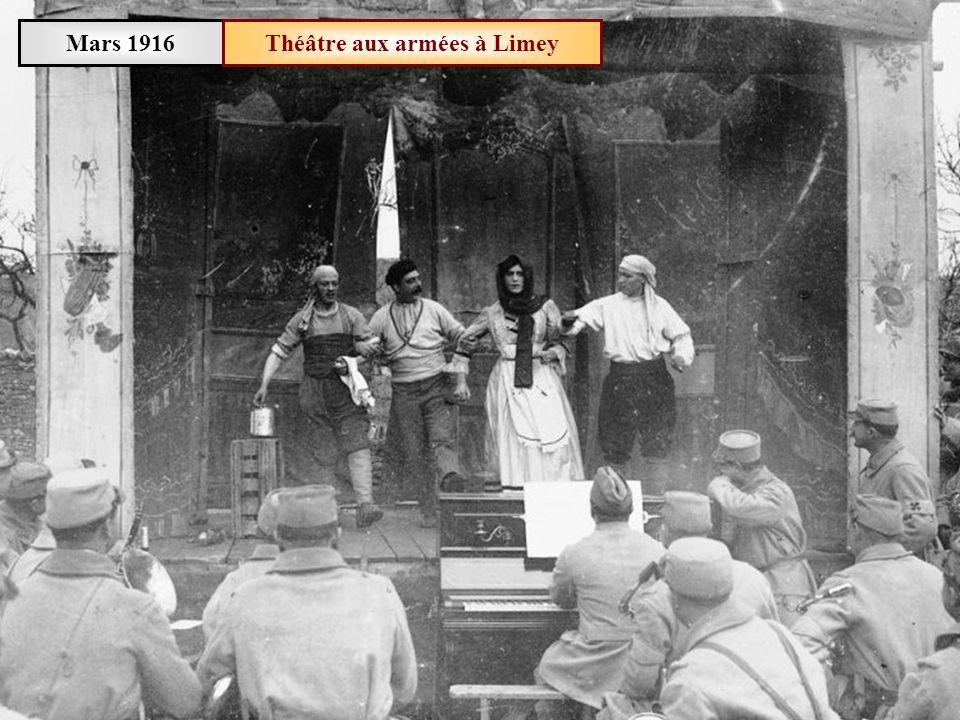 Théâtre aux armées à Limey