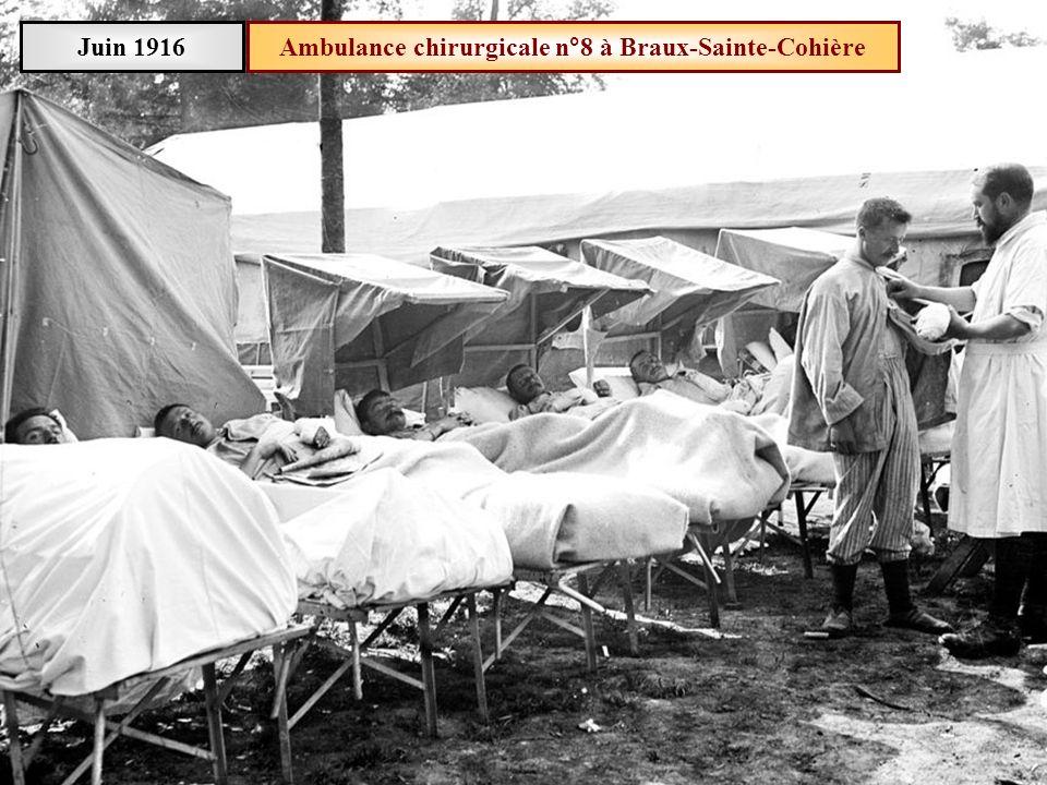 Ambulance chirurgicale n°8 à Braux-Sainte-Cohière