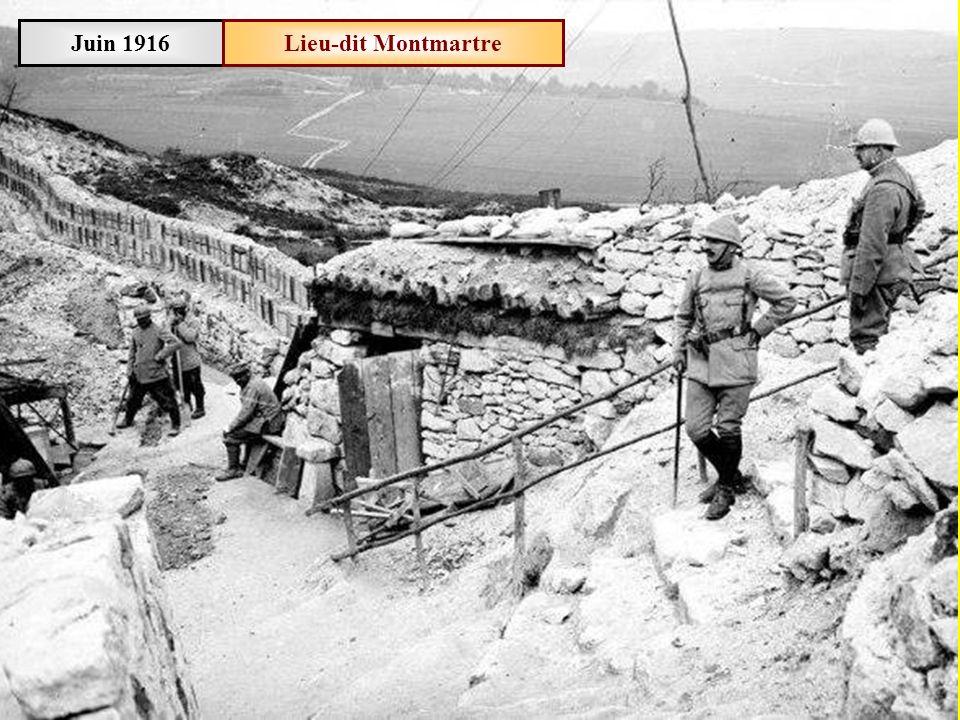 Juin 1916 Lieu-dit Montmartre
