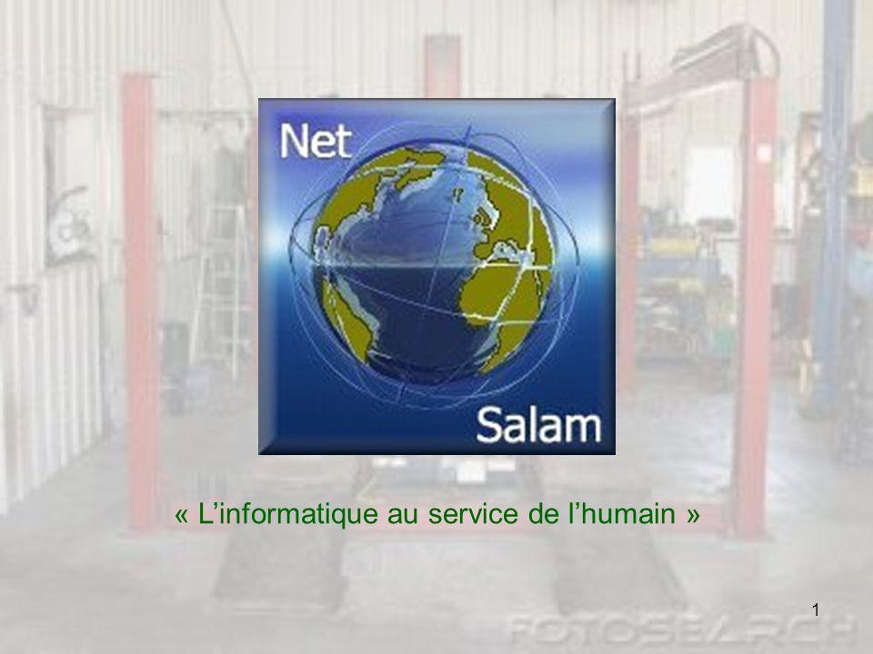 « L'informatique au service de l'humain »