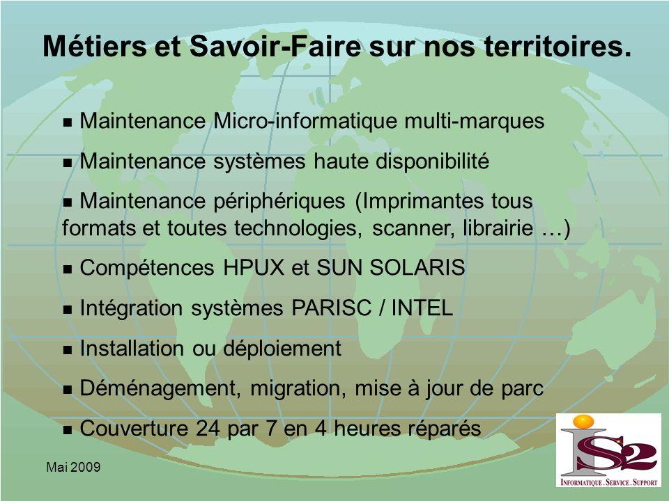 Métiers et Savoir-Faire sur nos territoires.
