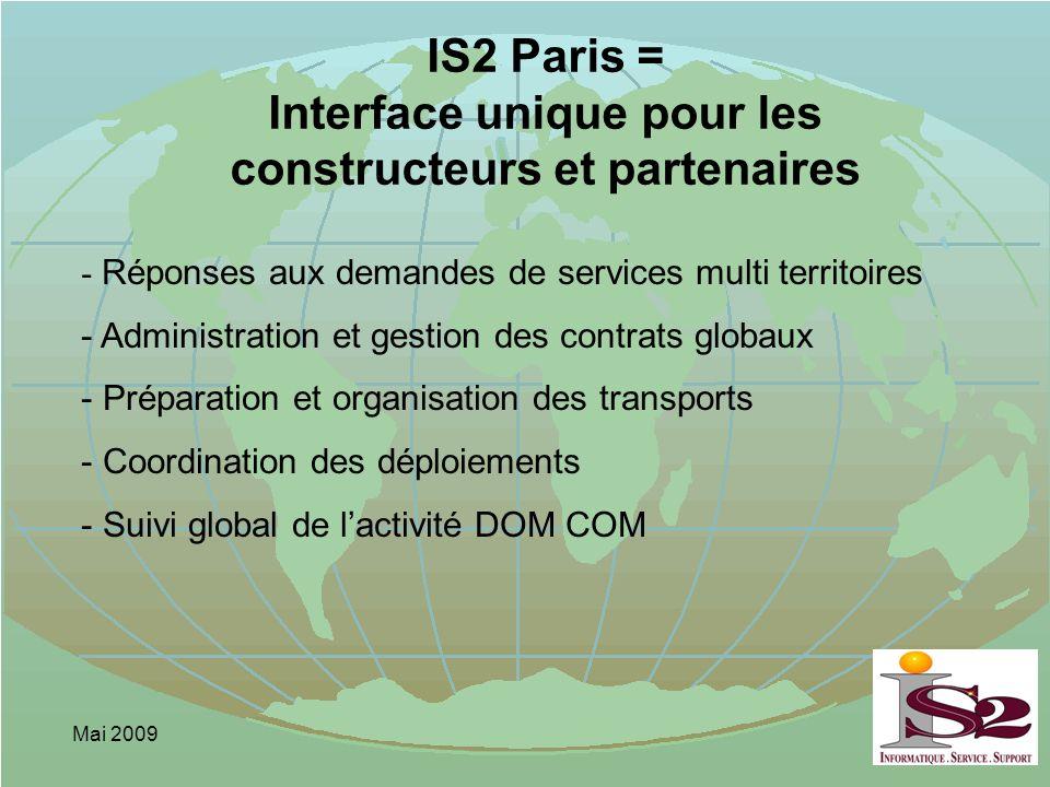 IS2 Paris = Interface unique pour les constructeurs et partenaires