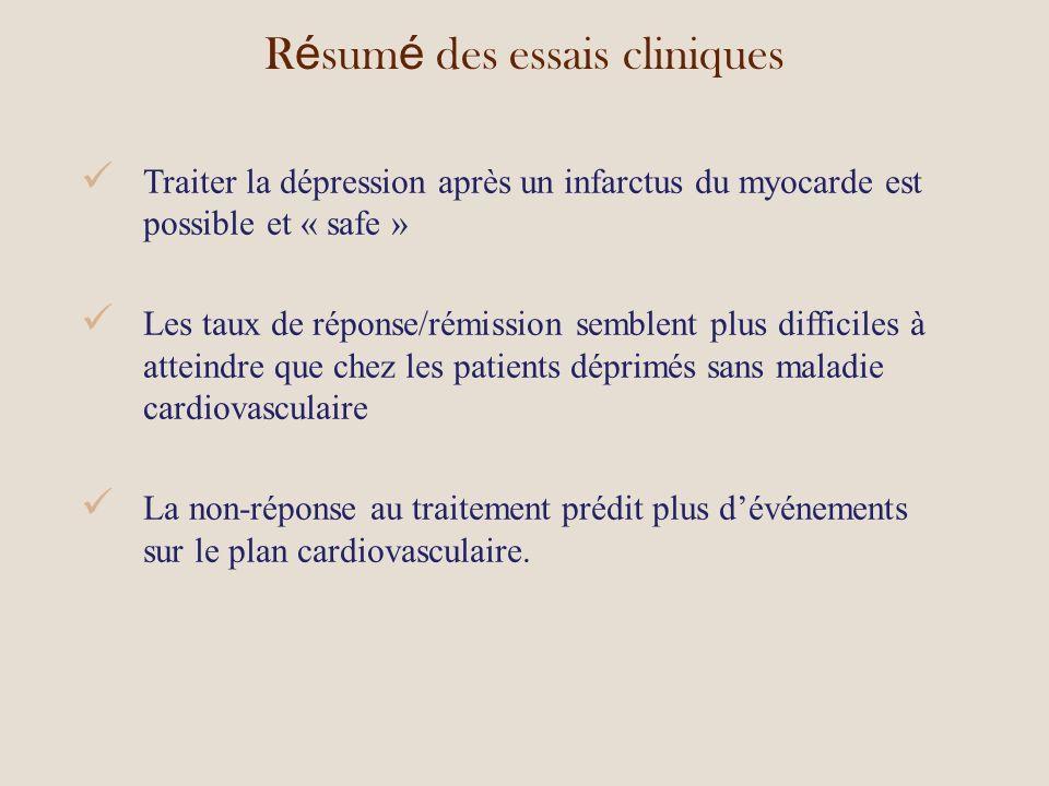 Résumé des essais cliniques