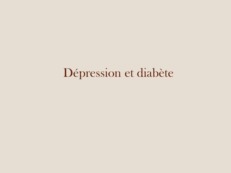 Dépression et diabète