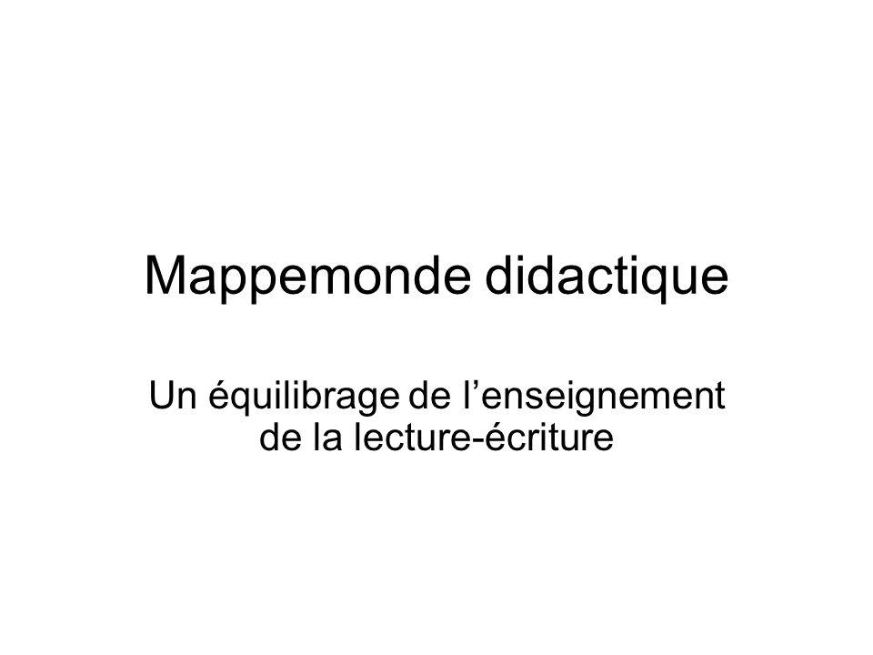 Mappemonde didactique