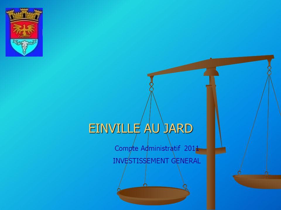 INVESTISSEMENT GENERAL