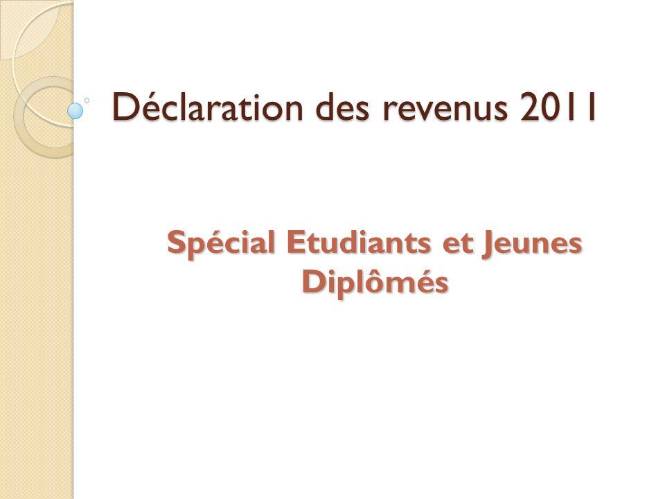 Déclaration des revenus 2011