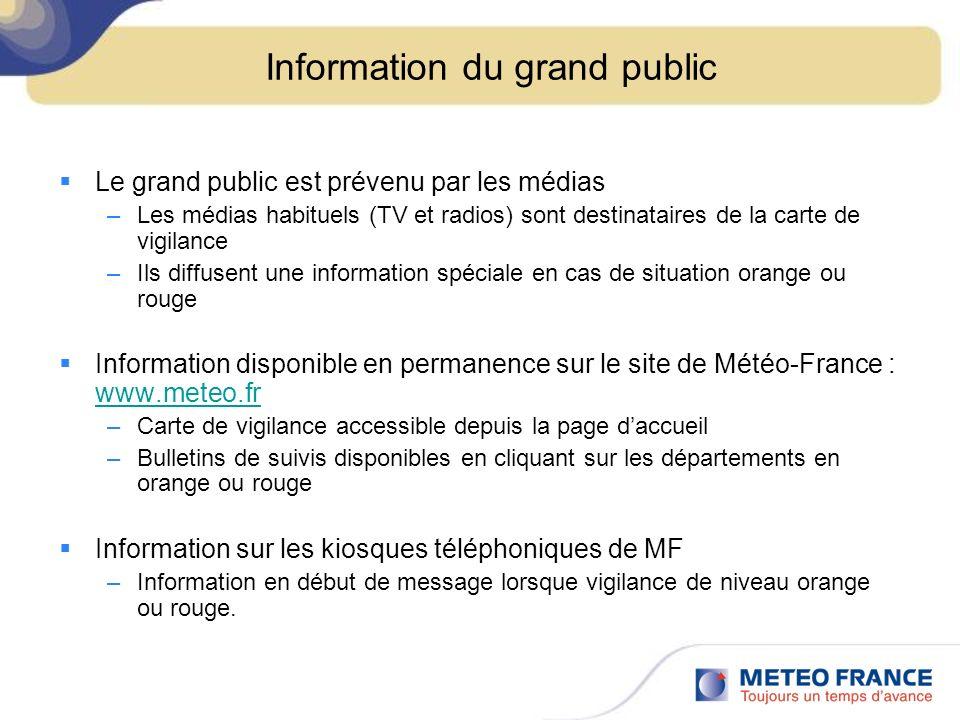 Information du grand public