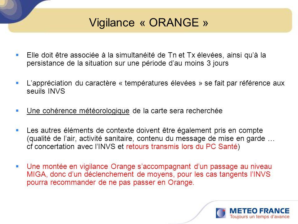 Vigilance « ORANGE »
