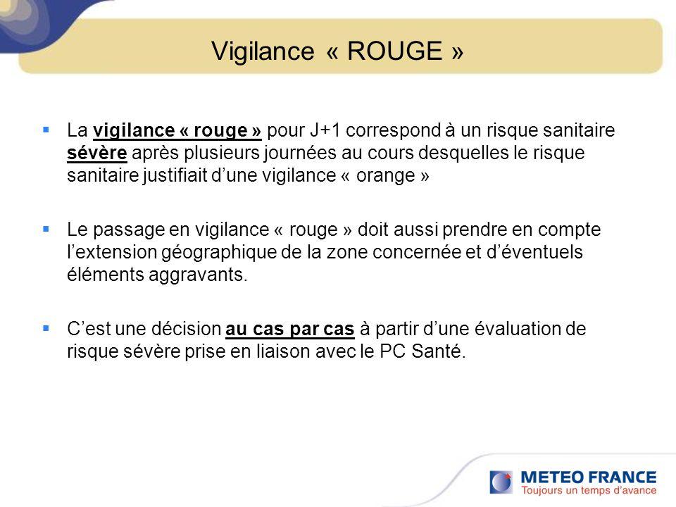 Vigilance « ROUGE »