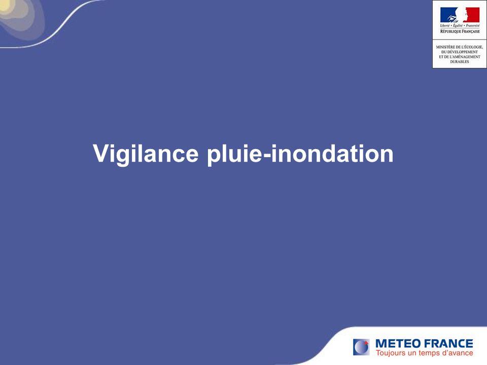 Vigilance pluie-inondation