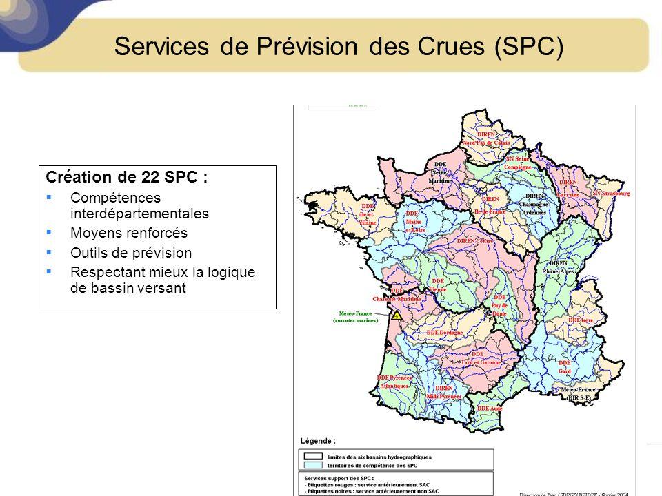 Services de Prévision des Crues (SPC)