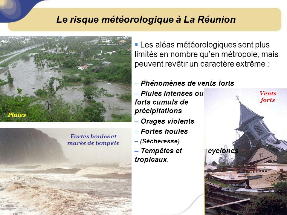 Le risque météorologique à La Réunion