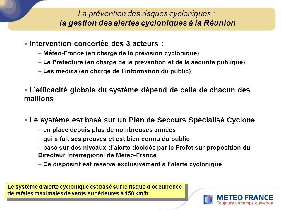 La prévention des risques cycloniques : la gestion des alertes cycloniques à la Réunion