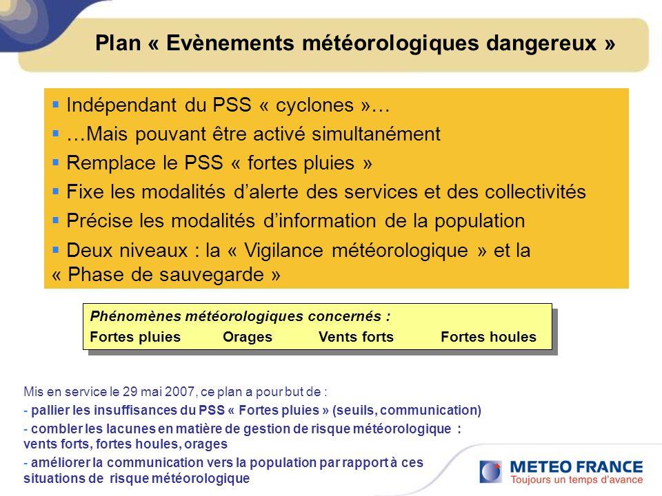 Plan « Evènements météorologiques dangereux »