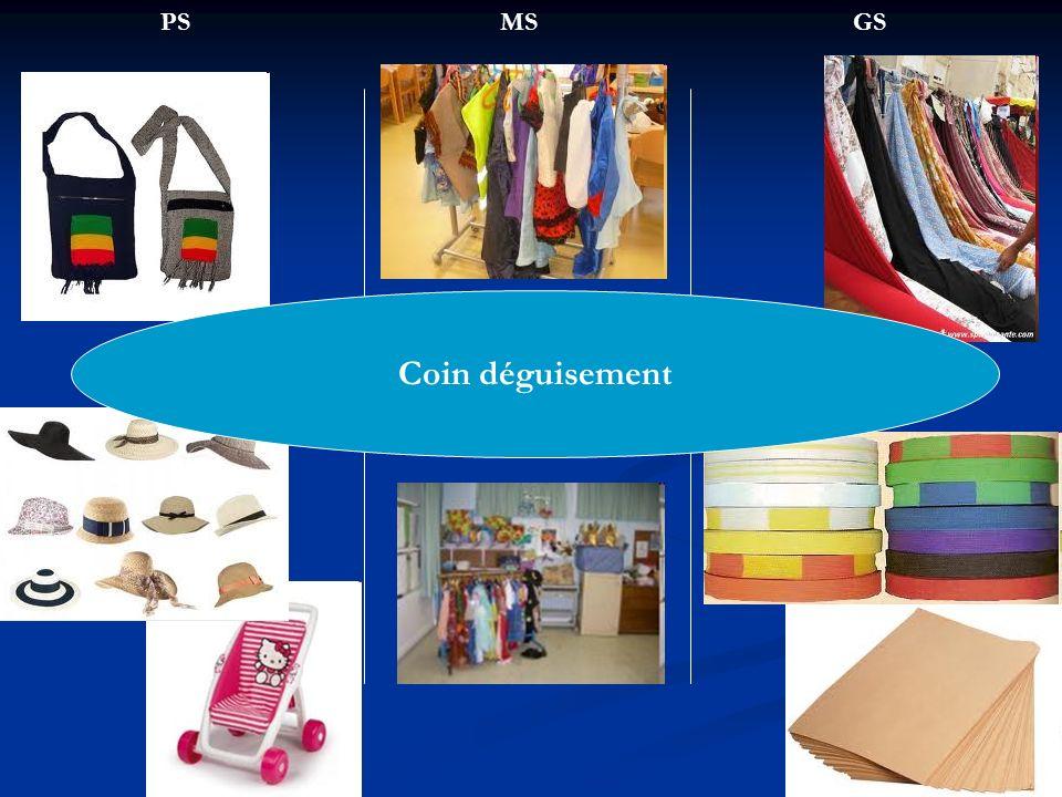 PS MS GS Coin déguisement