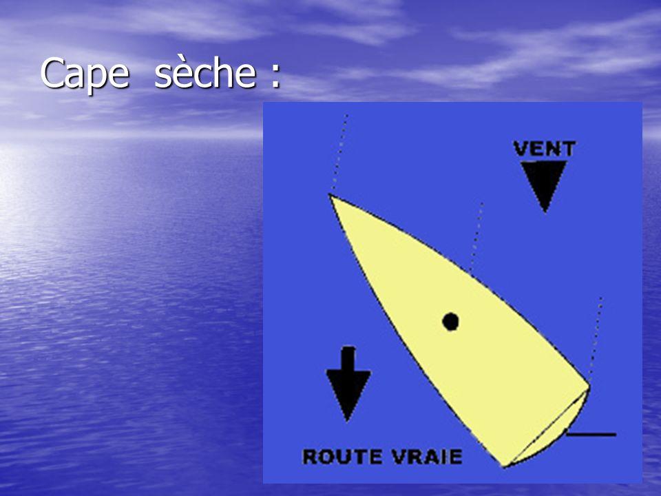Cape sèche :