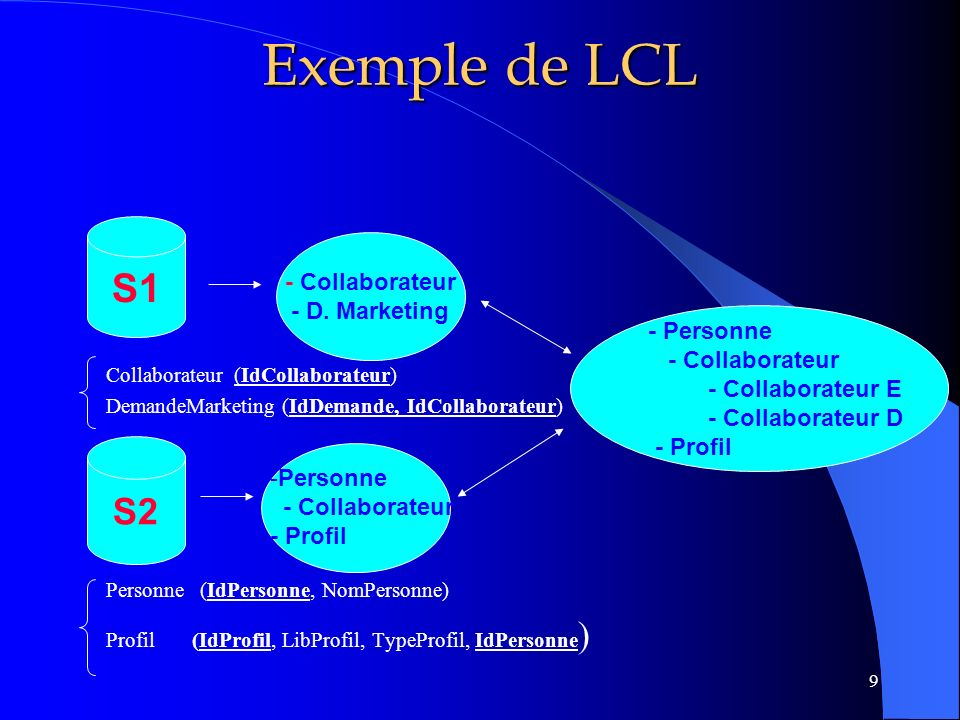 Exemple de LCL S1 S2 - Collaborateur - D. Marketing - Personne