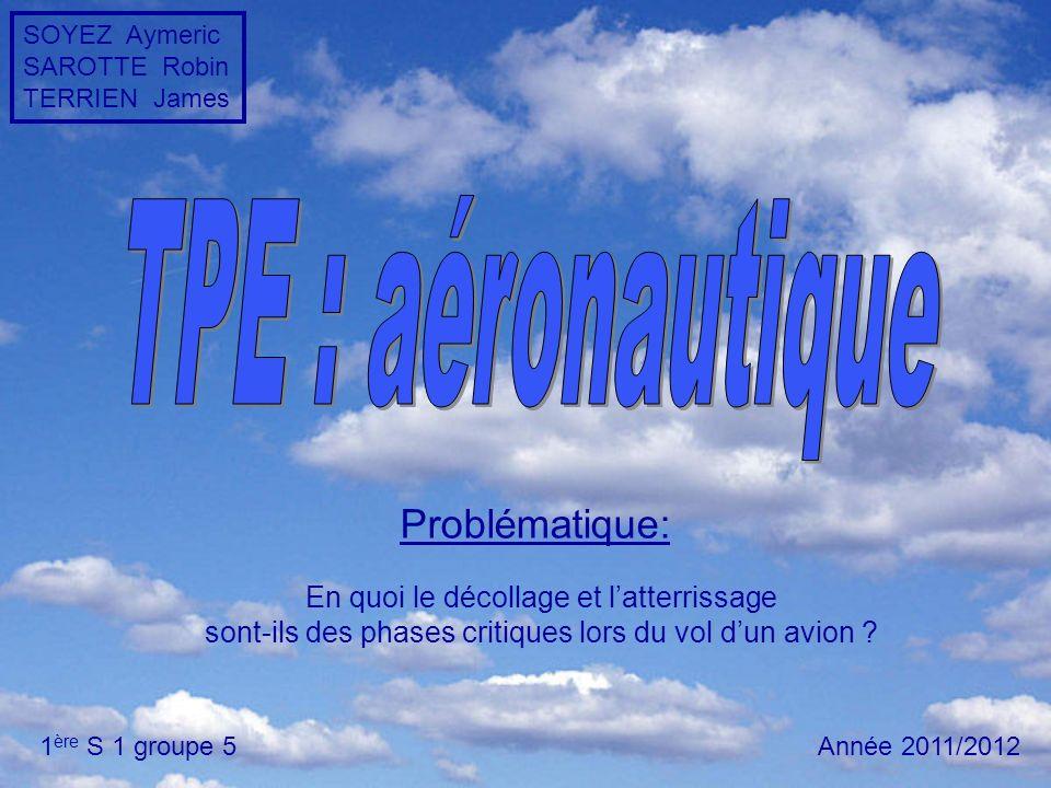 TPE : aéronautique Problématique: