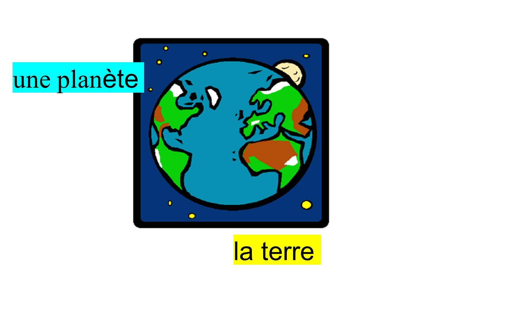 une planète la terre