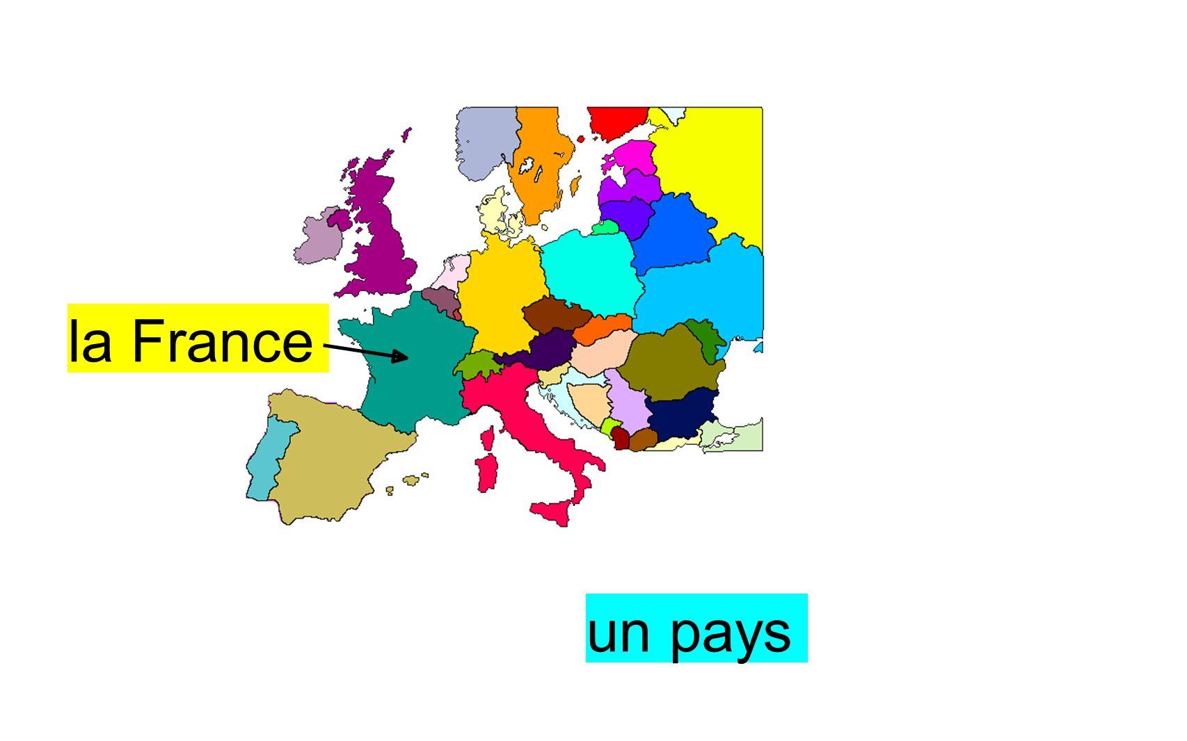 la France un pays