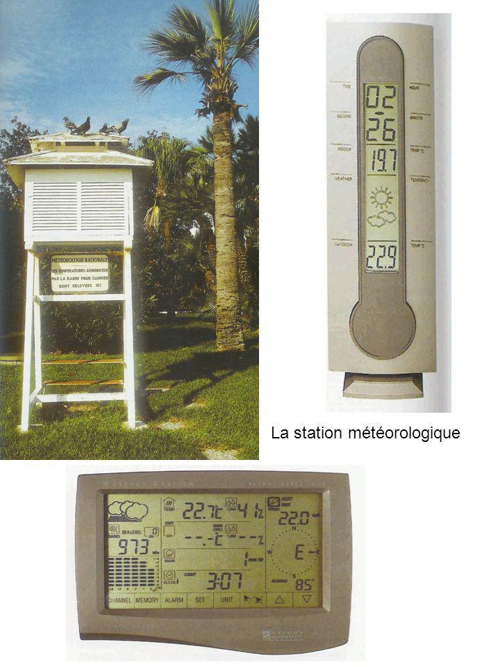 La station météorologique